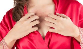 зуд груди у женщин