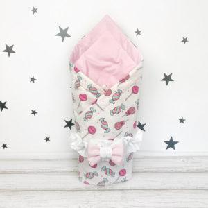 Пледы и конверты для новорожденных