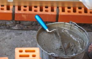 Цементный раствор. Виды материала